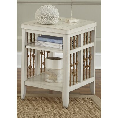 Eastford Chairside Table Finish: White