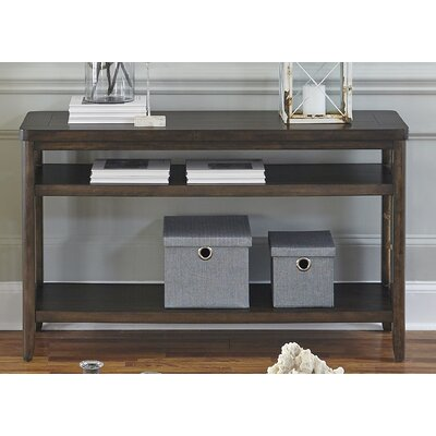 Sorrento Console Table Finish: Brown