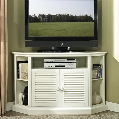 Anita 52 TV Stand Color: White