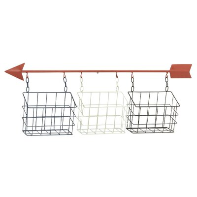 Breakwater Bay Multi-Purpose Arrow Styled Wall Basket