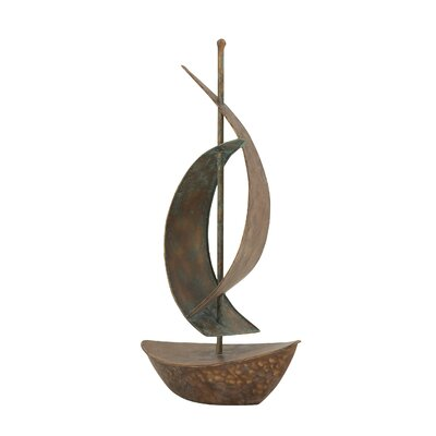 Elegant Ship Table Figurine