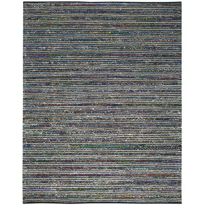 Gilchrist Hand-Woven Gray Area Rug Rug Size: Rectangle 8 x 10
