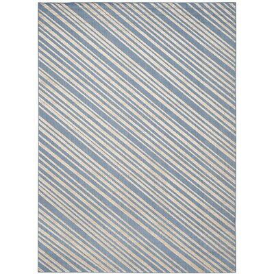Guilford Blue Indoor/Outdoor Area Rug Rug Size: 8' x 11'2