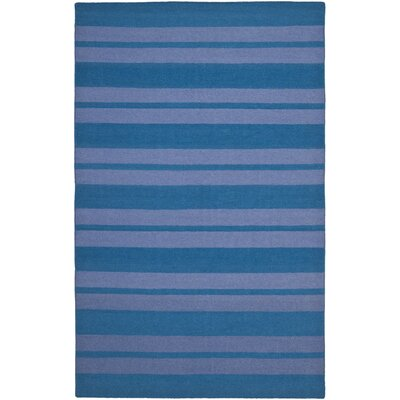 Blaisdell Hand-Woven Turquoise/Lavander Area Rug Rug Size: 5 x 8