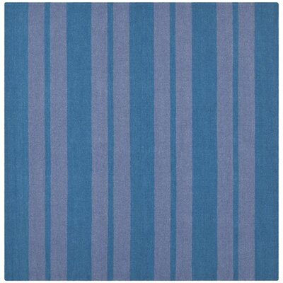 Blaisdell Hand-Woven Turquoise/Lavander Area Rug Rug Size: Square 6 x 6