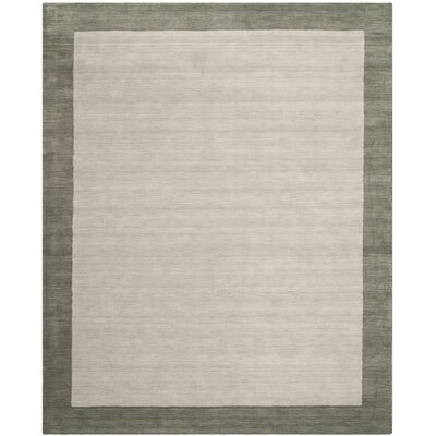Southbury Wool Light Gray Area Rug Rug Size: Runner 23 x 14
