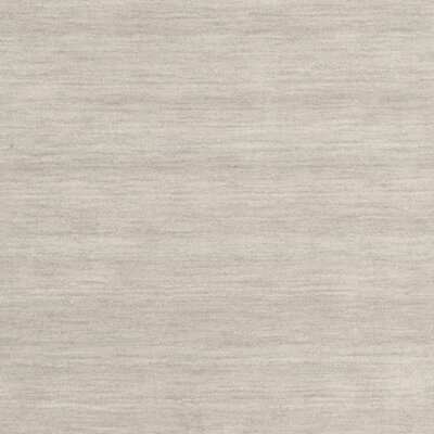 Southbury Hand-Woven Light Gray Area Rug Rug Size: Square 4