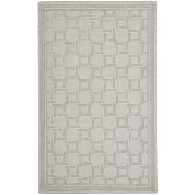 Resort Hand-Loomed Driftwood / Grey Area Rug Rug Size: 4 x 6