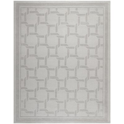 Resort Hand-Loomed Driftwood / Grey Area Rug Rug Size: 9 x 12