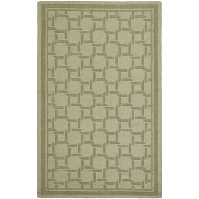 Resort Hand-Loomed Pumpkin Seed Area Rug Rug Size: 5 x 8