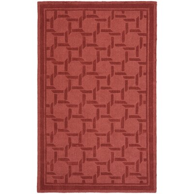 Resort Hand-Loomed Sealing Wax Area Rug Rug Size: 5 x 8