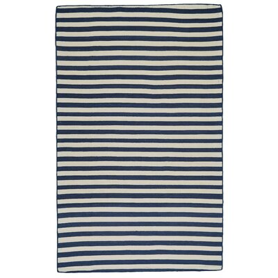 New Portland Hand-Loomed Atlantic Indoor/Outdoor Area Rug Rug Size: 5 x 8