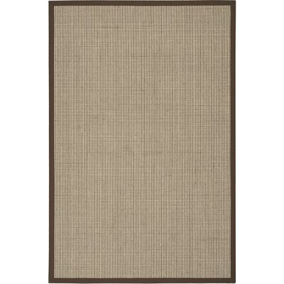 Wilton Hand-Woven Beige Area Rug Rug Size: Rectangle 5 x 76