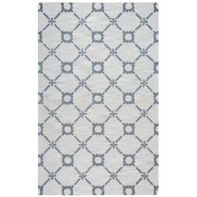 East Providence Hand-Tufted Gray Area Rug Rug Size: 5' x 8'
