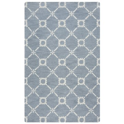East Providence Hand-Tufted Light Blue Area Rug Rug Size: 5' x 8'