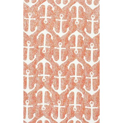 Zalia Anchors Terra Indoor/Outdoor Area Rug Rug Size: 9 x 12