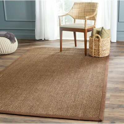 Naugatuck Brown Area Rug Rug Size: 2 x 4