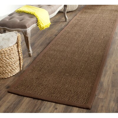 Naugatuck Brown Area Rug Rug Size: Runner 2 x 10