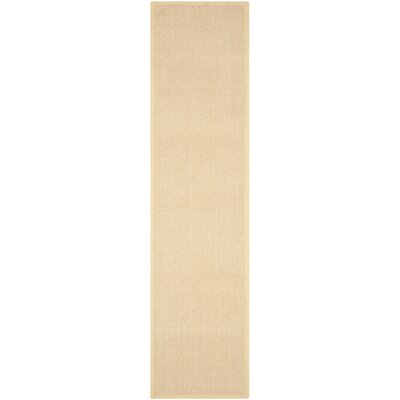 Richmond Maize/Wheat Rug Rug Size: Runner 26 x 22