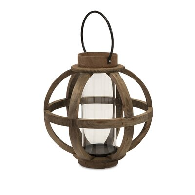 Breakwater Bay Wood Lantern
