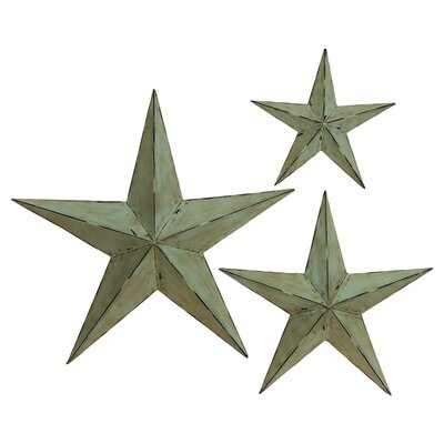 3-Piece Star Wall Decor Set
