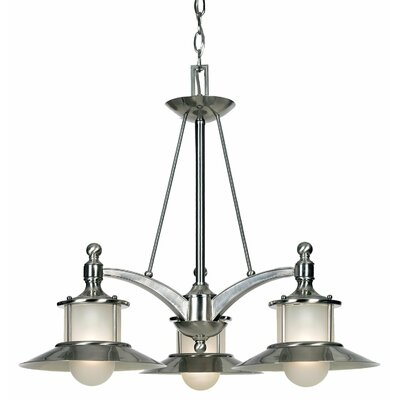 Longview 3-Light Shaded Chandelier