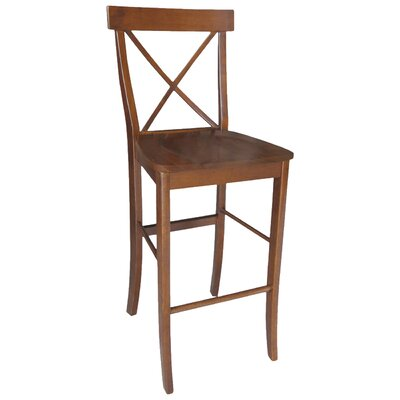 Downey 29 Bar Stool Color: Espresso