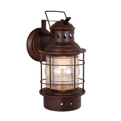 Breakwater Bay Reliance 1 Light Outdoor Wall Lantern
