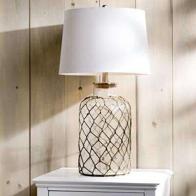 Belvidere Nautical Net 30? Table Lamp Color: Clear