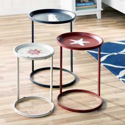 Bridgeville 3 Piece Nesting Table Set