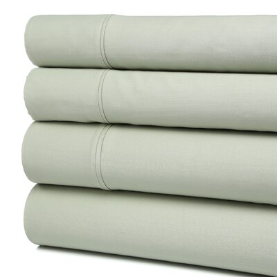Orleans 300 Thread Count Cotton Sheet Set Color: Sage, Size: Full