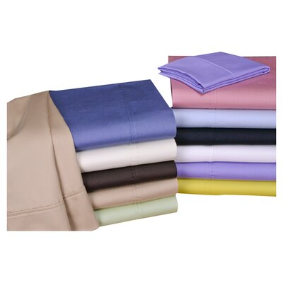 Orleans 300 Thread Count Woven Stripe Sheet Set Color: Mauve, Size: Full