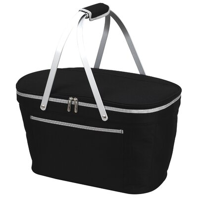 Green Bay Collapsible Basket Cooler Color: Black