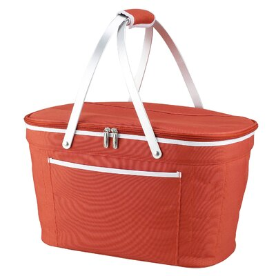 Green Bay Collapsible Basket Cooler Color: Orange