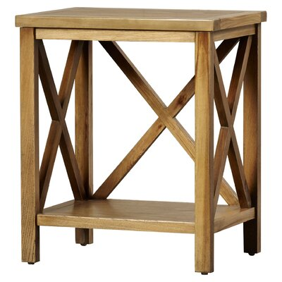 Oldham End Table Color: Oak