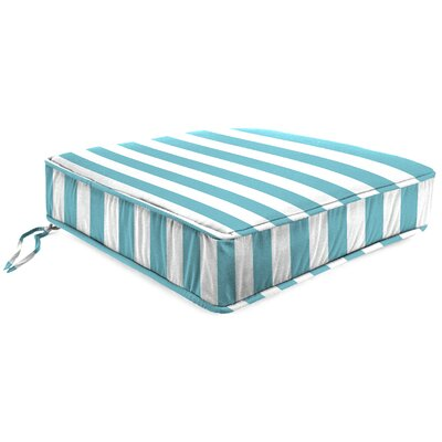 Outdoor Lounge Chair Cushion Fabric: Cabana Turquoise