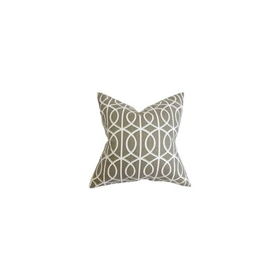 Breakwater Bay Isle of Springs Geometric Cotton Throw Pillow