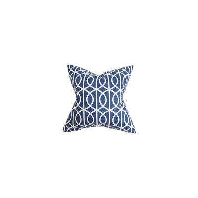 Isle of Springs Geometric Cotton Throw Pillow Color: Twilight, Size: 18 H x 18 W