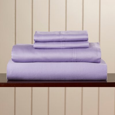 Orleans 300 Thread Count Cotton Sheet Set Size: King, Color: Lilac