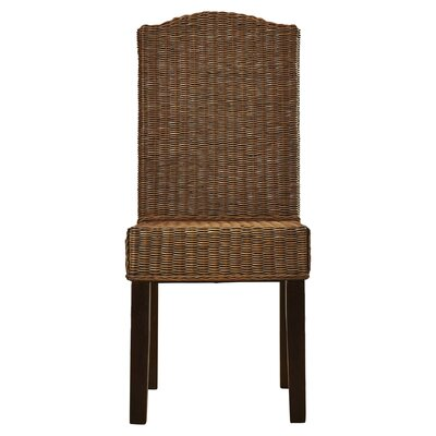 Carrcroft Parsons Chair Upholstery: Brown