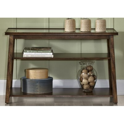 Trinity Console Table Finish: Tobacco
