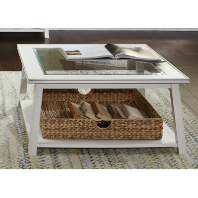 Trinity Coffee Table Finish: Linen