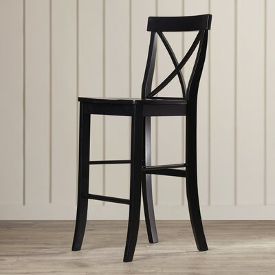 Downey 29 Bar Stool Finish: Black