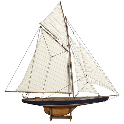 1901 Small America's Cup Columbia Model Boat BRWT1912 27718219