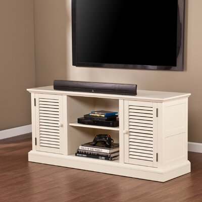 South Berwick TV Stand Finish: Antique White