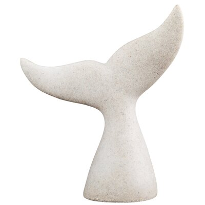 Breakwater Bay Whale Tail Sculpture (Set of 2)