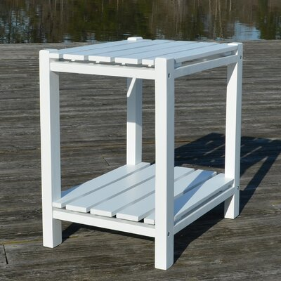 Damariscotta End Table Finish: White