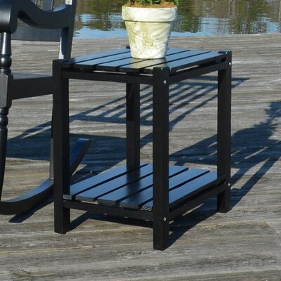 Damariscotta End Table Color: Black