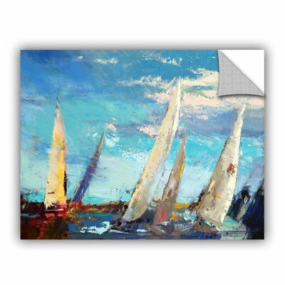 Magnificence Painting Print on Canvas Size: 14