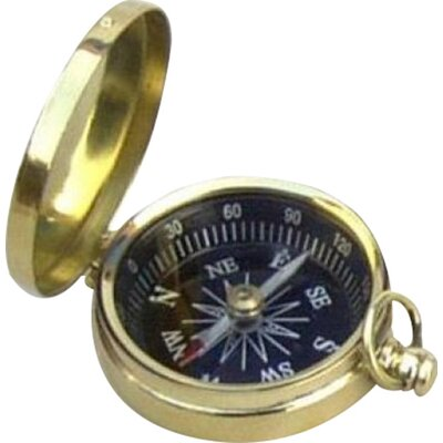 Hatfield Decorative Pocket Compass with Dial